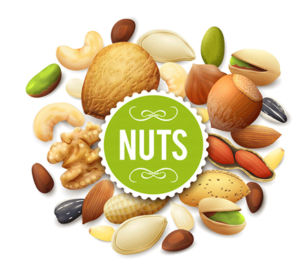 Nuts Nutrition ( Part-2) 🥥-(Macadamias, Bazilian, Pecan, Hazel Nuts, Coconuts)
