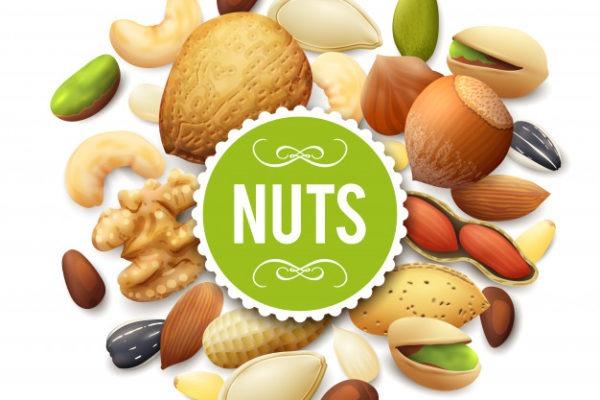 Nuts Nutrition ( Part-2) 🥥-(Macadamias, Bazilian, Pecan, Hazel Nuts, Coconuts)