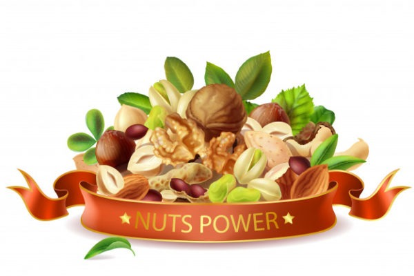 Nut Nutrition (Part 1)-🥜 ( Peanuts, Almonds, Pistachios, Cashew, and Walnuts)
